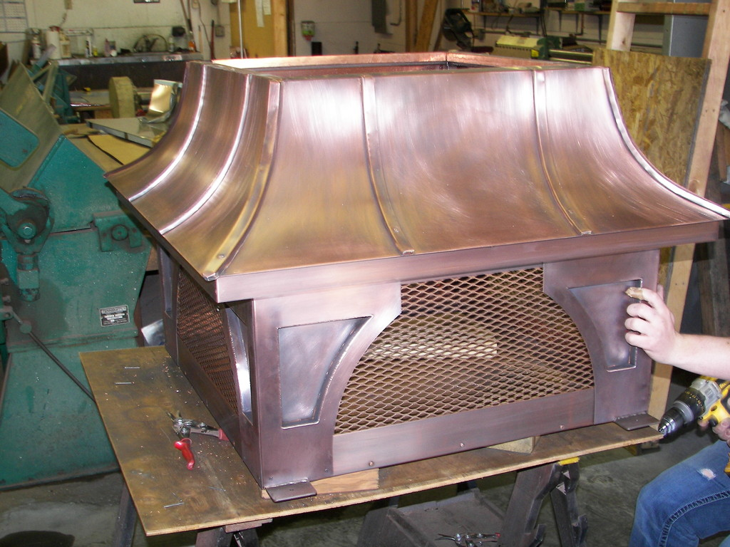 Cmt Fabrication Inc Copper Range Hoods And Countertops